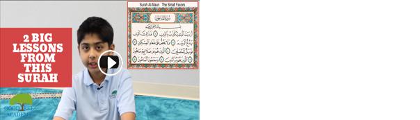 The Messages in Surah Al-Ma'un (107 The Small Kindnesses)